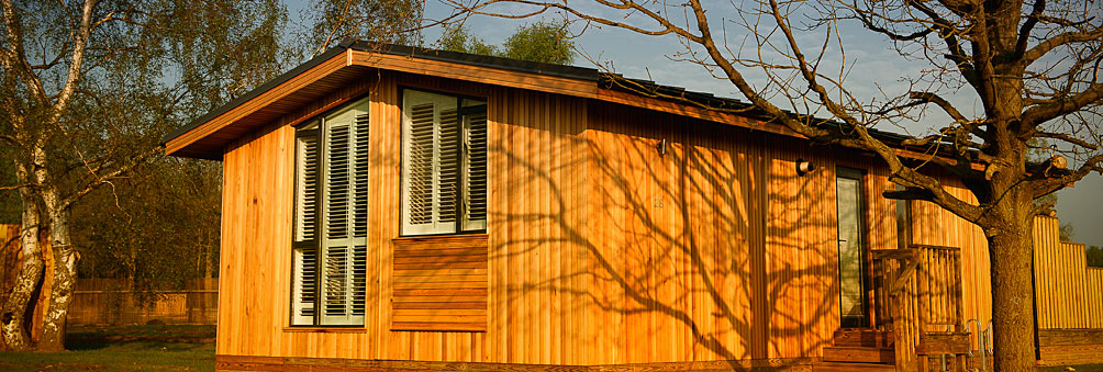 Own a lodge at The Sherwood Hideaway