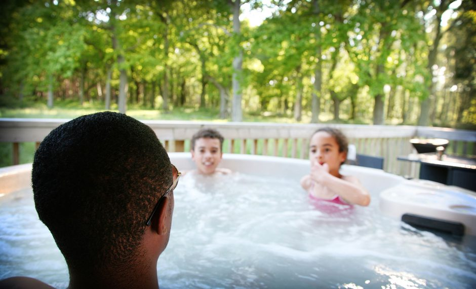 Lodge Holiday with Hot Tub