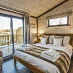 Woodland View lodge master bedroom