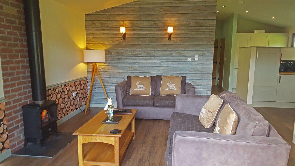Woodland Rustic Living Area